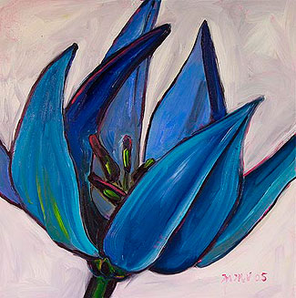 Blue Tulip, Fully